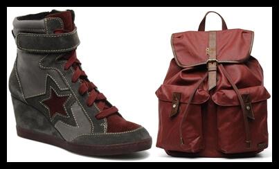 Las sneakers y mochilas le quitan el puesto a los clutchs y los zapatos de tacón