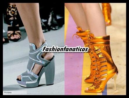 Qué zapatos se llevarán en Primavera-verano 2014