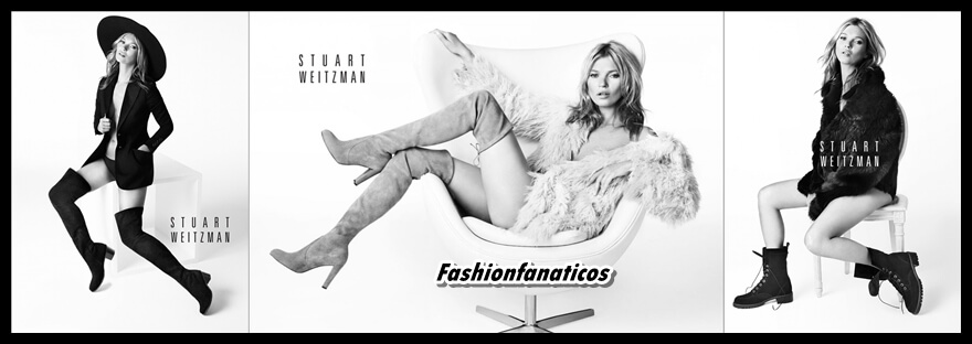 Kate Moss repite como imagen de Stuart Weitzman