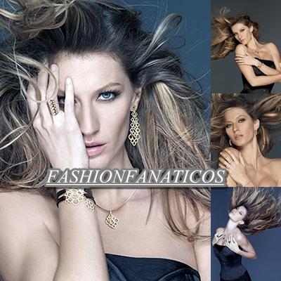 Gisele Bündchen posa de lo más sexy como imagen de la firma de joyas Vivara