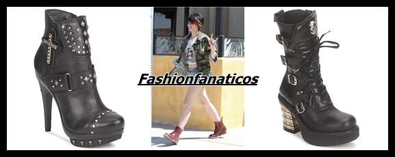 El estilo más punk llega con las botas del Otoño-Invierno 2013-2014