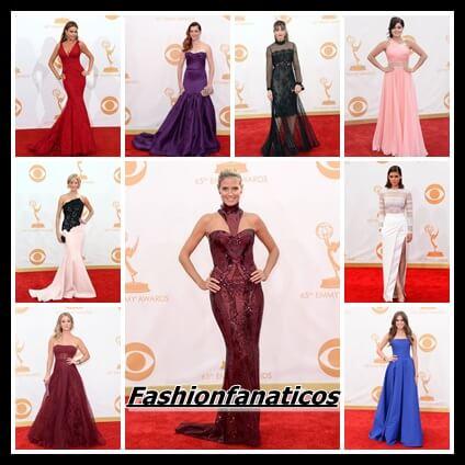Los Emmy se llenan de color