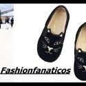 Charlotte Olympia presenta una colección de slippers para niñas