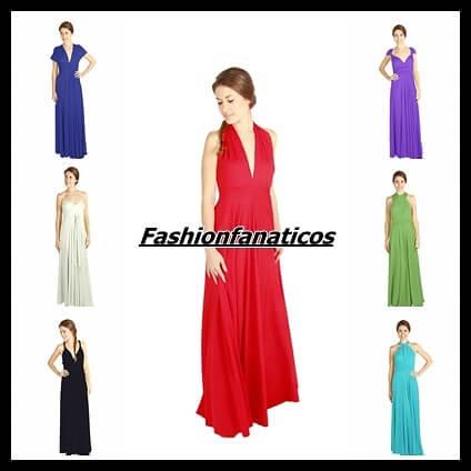 Rojo Carmesí, vestidos transformables
