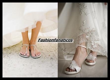 Sandalias para novias Primavera 2014