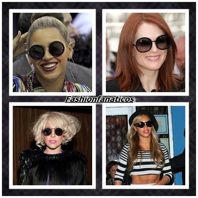 Se llevan las gafas de sol redondas