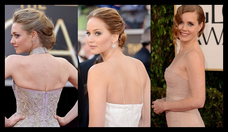 Peinados según el vestido