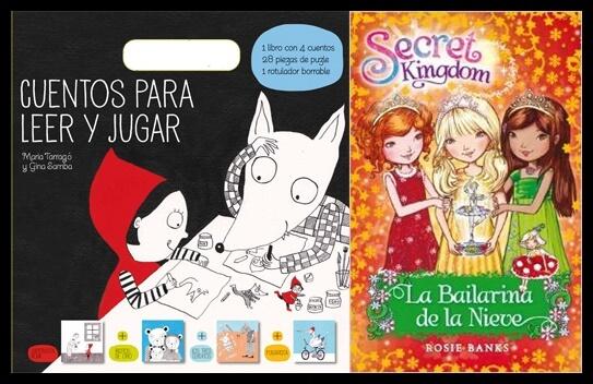 Libros, regala fantasía a los más pequeños