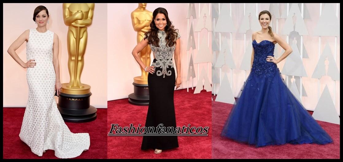 Famosas en la gala de los Premios Oscar 2015
