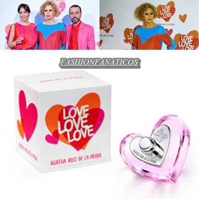 Love Love Love, nueva fragancia de Agatha Ruiz de la Prada