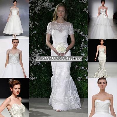 Vestidos de novia, tendencias para el año 2012