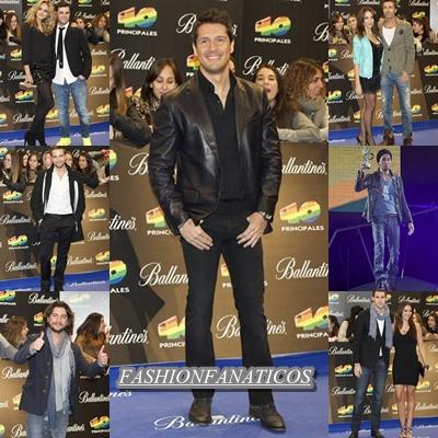 Los hombres triunfan en Los Premios 40 Principales