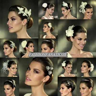 Pronovias, tocados de novia 2012
