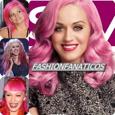 Las celebrities apuestan por el color rosa en sus melenas