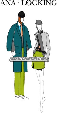 """Nueva colección otoño-invierno 2012-13 """"Time Capsule"""" de Ana Locking"""