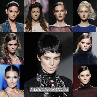 Peinados, ¿qué tendencias hemos visto en la Mercedes Benz Fashion Week Madrid 2012?