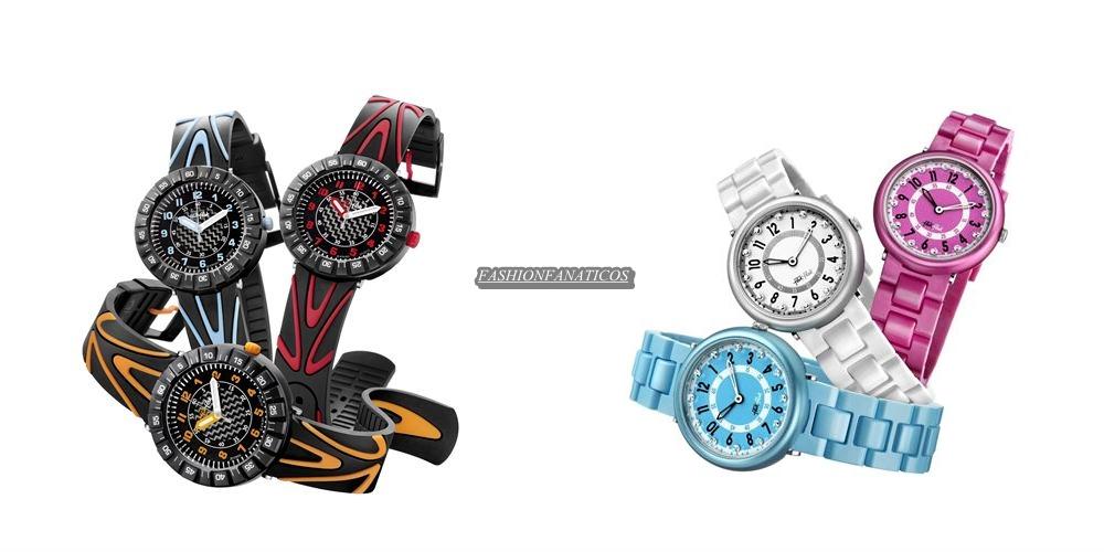 Flik Flak lanza una colección de relojes para los jóvenes