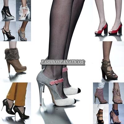 zapatos ¿qué tendencias hemos visto en la mercedes benz fashion week madrid 2012?
