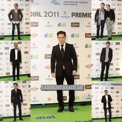 Los hombres triunfan en la gala de los premios Cadena Dial