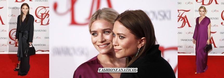 Las gemelas Olsen reciben un premio por su marca de moda
