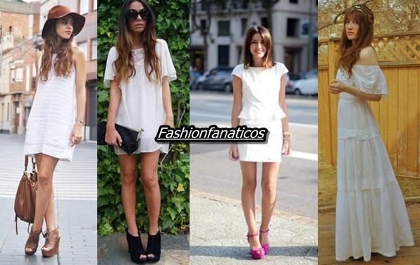 El color blanco es la tonalidad del Verano 2012