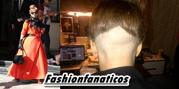 Lady Gaga luce nuevo peinado
