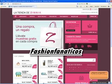 La cadena de perfumerías Zinnia abre su primera tienda online