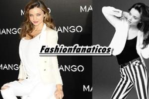 Miranda Kerr se convierte en la nueva imagen de mango