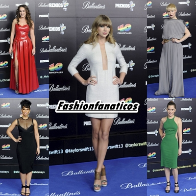 Las mejor vestidas de la Gala de los 40 Principales