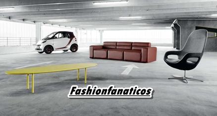 """La marca de muebles BoConcept y la marca de automóviles smartse unen para crear el """"smart fortwo BoConcept signature style"""""""