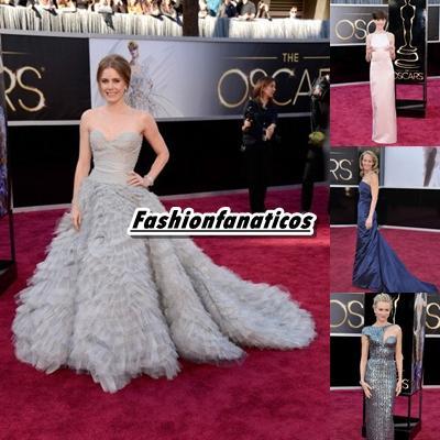 Las mejor vestidas de los Oscar 2013