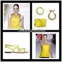 Amarillo, el nuevo color de moda