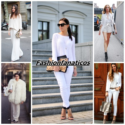 Aprende a lucir un look total white