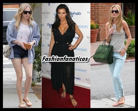Las sandalias planas, las reinas del Verano 2013