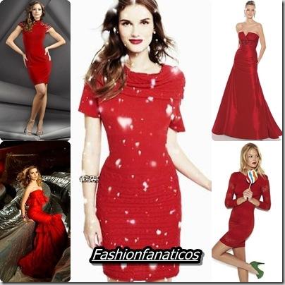 Apuesta las próximas fiestas navideñas por un vestido rojo