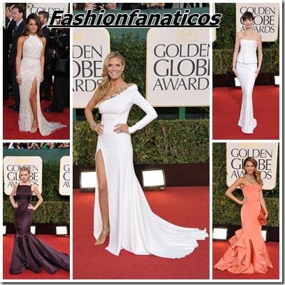 Globos de Oro, las famosas mejor vestidas