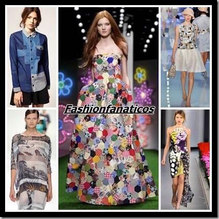 La tendencia patchwork todo un must del Verano 2013