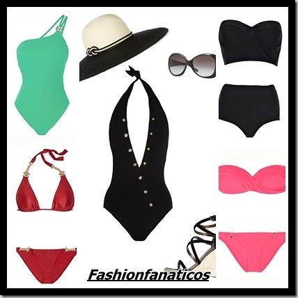 Tendencias en trajes de baño mujer Verano 2013