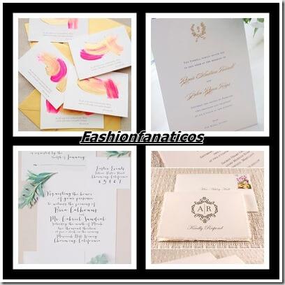 Invitaciones de boda, cómo escogerlas
