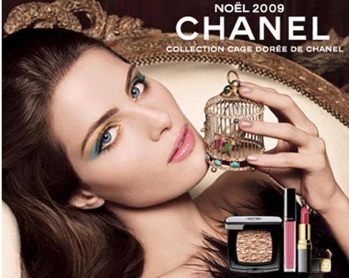 Chanel, colección de maquillaje Navidad 09-10
