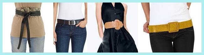 Tendencias accesorios: Los cinturones están de moda