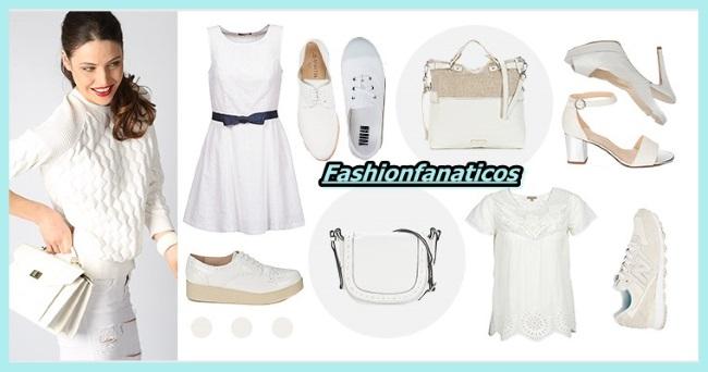 Color blanco, tendencia en moda Verano 2015