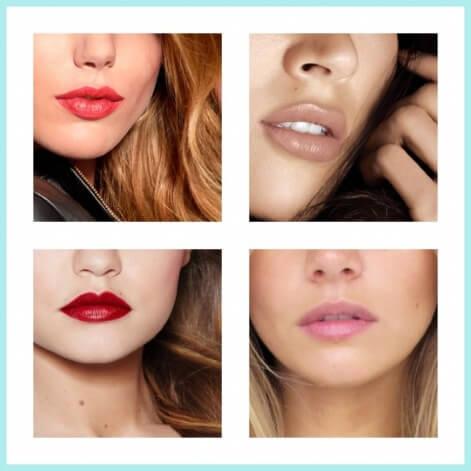 Barras de labios según el tono de tu cutis