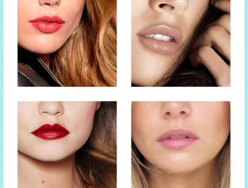 colores de labios según la piel