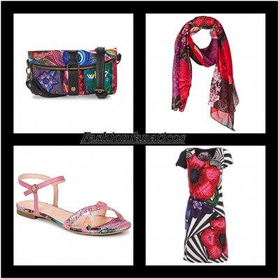 Imagenes de complementos y ropa de Desigual