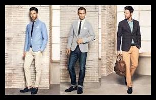diferentes hombres luciendo blazers
