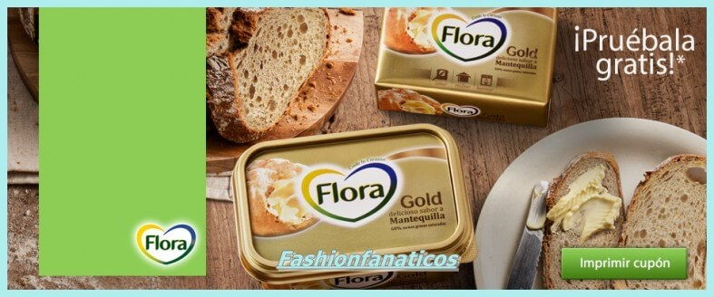 Flora Gold, cupón gratis