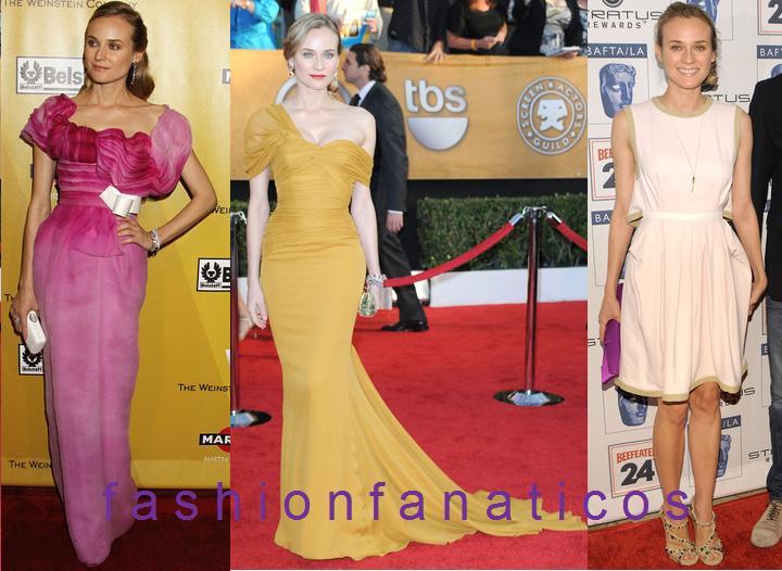 Los looks de Diane Kruger esta semana: ¿Con cuál te quedas?