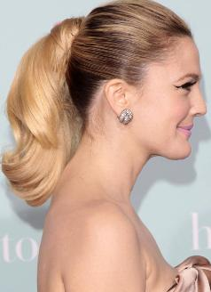 drew-barrymore-ponytail