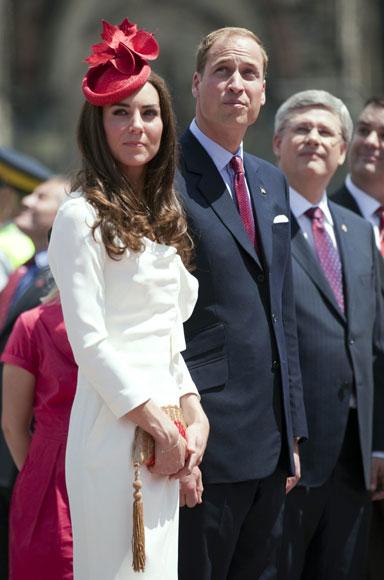 Catherine deslumbra con su estilo en Canadá